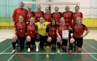 Naiste saalijalgpalli rahvaliiga võitis Nõmme United
