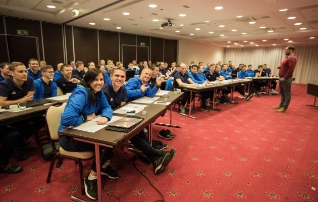 Eesti tippkohtunike hooaja-eelne seminar. Foto: EJL