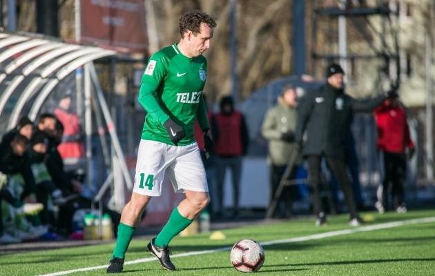 FC Flora poolkaitsja Konstantin Vassiljev. Foto: Brit Maria Tael