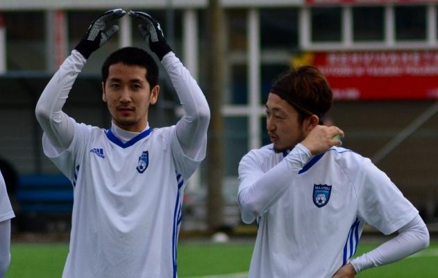 Sho Hayasaka ja Kataro Amemiya. Foto: Edgar Kriisk
