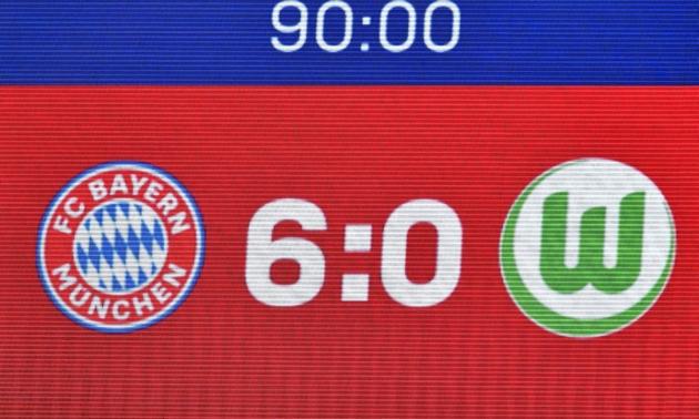 Müncheni Bayern tagus neli päeva pärast Joachim Löwi otsust Wolfsburgi armetult mutta. Foto: Müncheni Bayerni Twitter