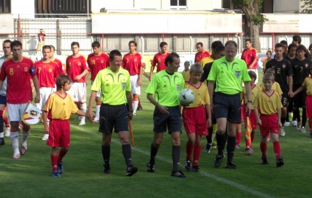 U19 EM-finaalturniiril teenindati ka Hispaania ja Portugali kohtumist. Foto: erakogu