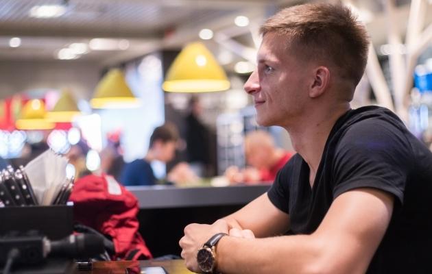 FCI Levadia keskkaitsja Marko Lipp. Foto: Brit Maria Tael