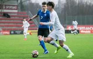VAATA JÄRELE: Finaalturniiriks valmistuvad Eesti noored kaotasid kindlalt tippklubide kasvandikega Prantsusmaale  (galerii!)