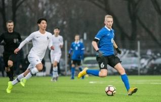 Video: Eesti noored pidid Prantusmaalt vastu võtma kindla kaotuse