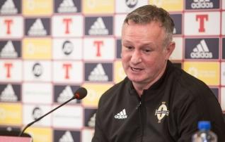 Põhja-Iirimaa peatreener Michael O'Neill: kui me Eestit ei võida, oleme plindris