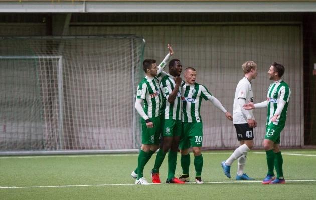 Kolm aastat tagasi mängis Žalgirisega FC Flora, kes leedukatele kahel korral kaotas. Foto: Brit Maria Tael