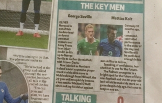 Belfast Telegraph soovitab silma peal hoida Mattias Käidil