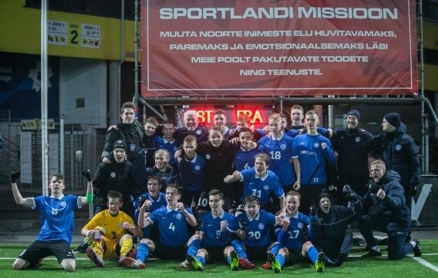 VAATA JÄRELE: Eesti U17 tegi Prantsusmaale uut ja vana  (galerii!)