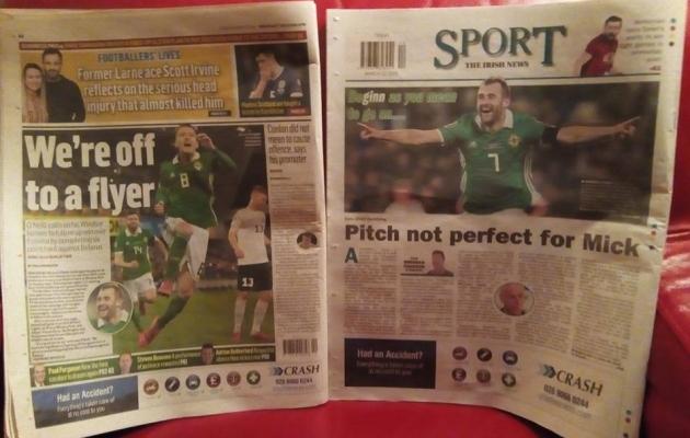 eccb219196a Noppeid Belfasti ajalehtedest: kannatlikkus viis sihile, kuid Põhja-Iirimaa  võinuks võita suuremalt (0)