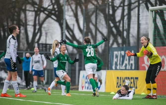 OTSEPILT: naiste jalgpalli klassika ehk hooaja avab Flora ja Pärnu madin superkarikale  (Flora ette!)