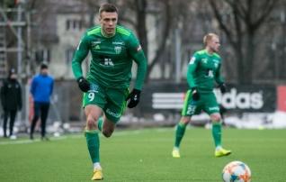 Uue Ukraina ääremängijaga Levadia sai Läti klubist jagu