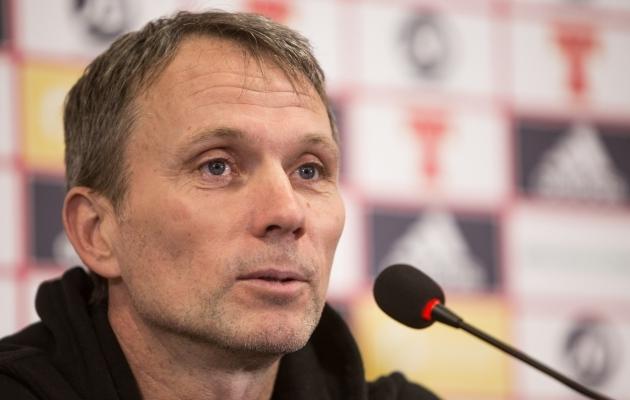Eesti jalgpallikoondise peatreener Martin Reim. Foto: Jana Pipar / EJL