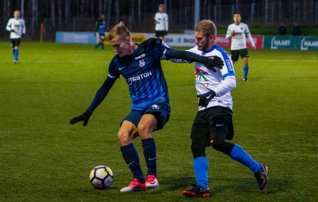 Karl Mööl mängis mullu veel Kalevi särgis. Foto: Gertrud Alatare