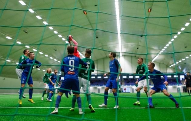 ba803cccef9 Tartu esindusvõistkonna Tammeka saab talvisel ajal täismõõtmetes katuse all  paiknevat väljakut tunnetada ainult Tallinnas.