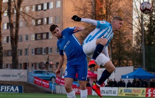 Andre Paju heitluses Sander Sinilaiuga. Foto: Liisi Troska