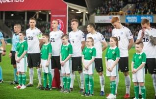 Eesti jätkab FIFA edetabelis esisaja lõpus, esikümnes kohavahetused