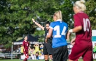 Eesti naiskohtunikud teenindavad rahvusvahelist maavõistlusmängu