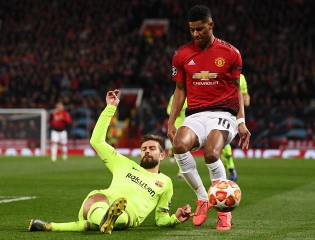 Marcus Rashfordi partii ei kuulunud tema õnnestunumate kilda. Foto: Manchester Unitedi Twitter