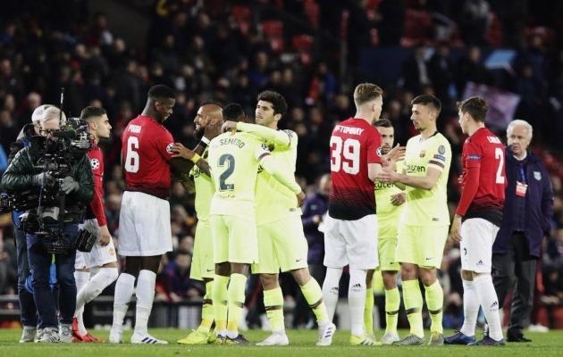 Kaheksandikfinaalis Pariis Saint-Germaini vastu suutis Manchester United pärast kodus kaotatud avamängu ikkagi edasi pääseda. FC Barcelona vastu sama triki kordamine oleks kahtlemata oluliselt suurem vägitükk. Foto: FC Barcelona Twitter