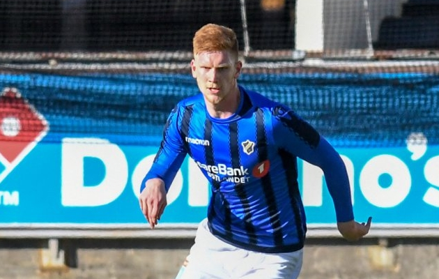 Madis Vihmann andis Norra kõrgliigas oma esimese väravasöödu, kui Stabaek võttis hooaja esimese võidu. Foto: stabak.no