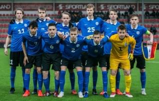 Otsepildis Soccernetis: Eesti U17 koondis võõrustab kolme külalist