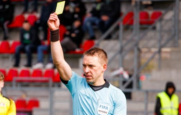 FCI Levadia - Viljandi JK Tulevik mängu vilistanud Roomer Tarajev. Foto: Oliver Tsupsman