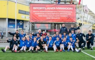 VAATA JÄRELE: Eesti U17 koondis alustas UEFA sõprusturniiri 7:0 võiduga!