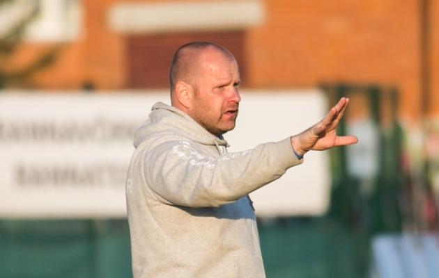 FC Elva peatreener Veiko Haan. Foto: Brit Maria Tael