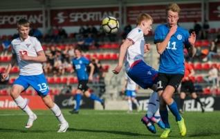VAATA JÄRELE: Eesti U17 küttis sauna soojaks ka Fääri saartele  (galerii!)
