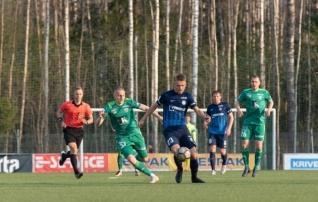 VAATA JÄRELE: Levadia tuli trammi alt välja, võttis lisaajal võidu ja jõudis poolfinaali