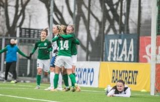 Video: Pärnu naiskond pidi Balti liigas Flora paremust tunnistama