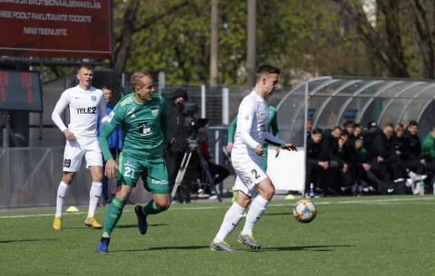 FCI Levadia ja FC Flora kohtumine. Foto: Oliver Tsupsman