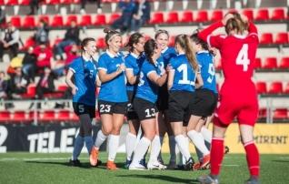 Neidude U17 koondis kohtub Sõprusturniiri viimases mängus Lätiga