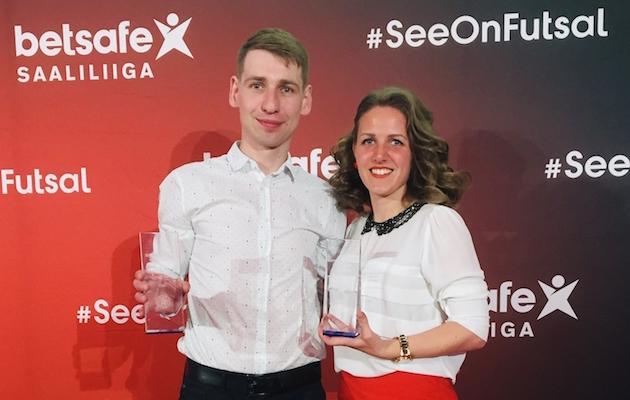 Maksim Aleksejev ja Margarita Matjuhhova. Foto: Robert Lepik / EJL
