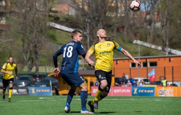 Kaimar Saag (kollases) on Tuleviku rünnakule lisanud uue mõõtme. Foto: Liisi Troska