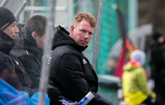 Nõmme Kalju U21 meeskonna peatreener Kristen Viikmäe. Foto: Brit Maria Tael