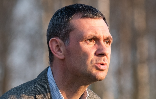 FCI Levadia peatreener Aleksandar Rogic. Foto: Liisi Troska