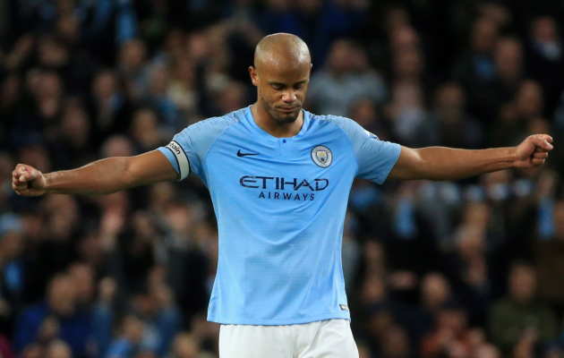 Vincent Kompany. Foto: Manchester City Twitter