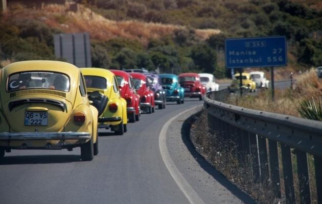 Volkswageni ikooniline Beetle ehk põrnikas on üks kõigi aegade kuulsamaid autosid. Foto: pinterest.com