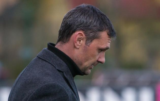 FCI Levadia peatreener Aleksandar Rogic. Foto: Andrei Smetana