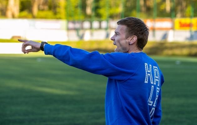 Tallinna Kalevi peatreener Aleksandr Dmitrijev. Foto: Gertrud Alatare