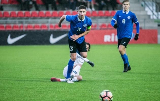 Eesti U17 alistas sel kevadel ka Prantsusmaa eakaaslased. Foto: Brit Maria Tael