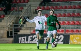 VAATA JÄRELE: Levadia U21 päästis Tallinna miniderbis üleaja penaltist punkti