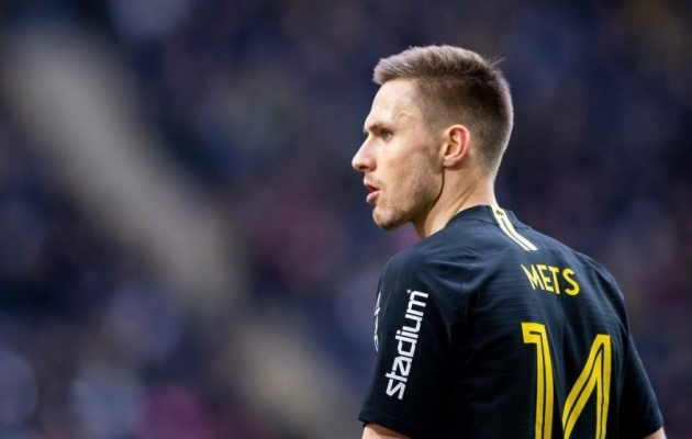 Karol Mets on AIK-is hoobilt liidriks tõusnud. Foto: AIK Twitter