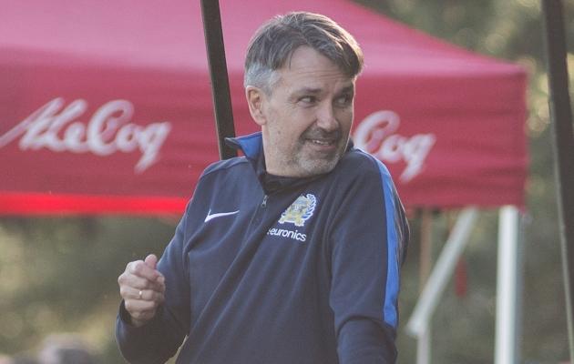 FC Kuressaare peatreener Jan Važinski. Foto: Jana Pipar / jalgpall.ee