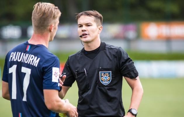 Grigori Ošomkov. Foto: Jana Pipar / jalgpall.ee