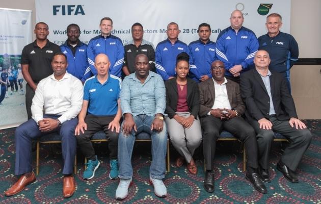 Janno Kivisild FIFA koolitusel. Foto: jalgpall.ee