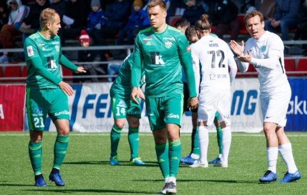 Hooaja esimeses Tallinna derbis kuulus 2:1 võit FC Florale. Kuidas läheb täna? Foto: Oliver Tsupsman