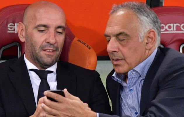 Monchi ja James Pallotta. Foto: Roma Twitter